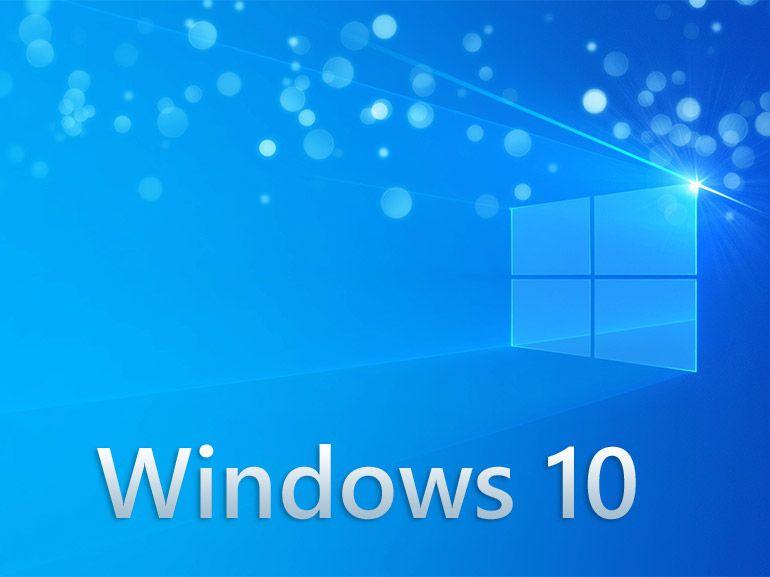 écran ordinateur sous windows 10
