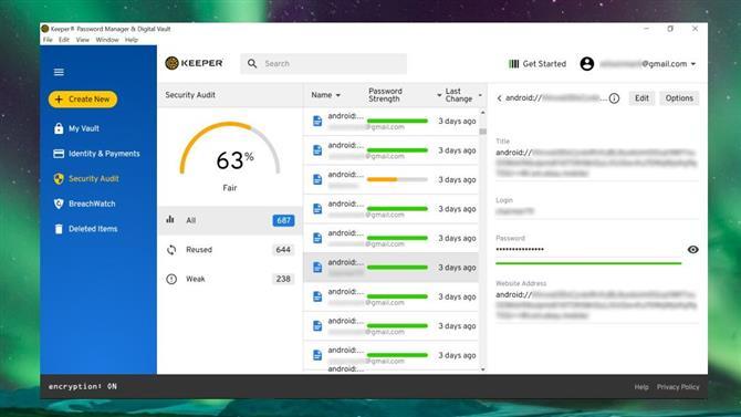 interface desktop keeper