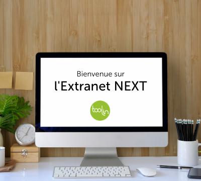 ordinateur avec extranet next