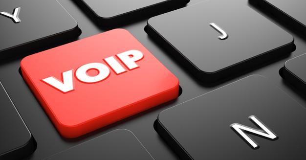 clavier d'ordinateur avec touche VOIP